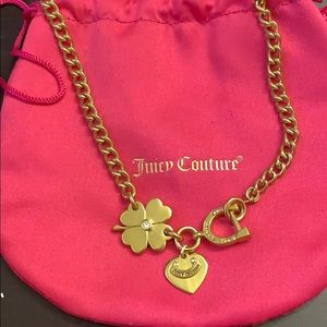 Juicy Couture Good Luck necklace gold
